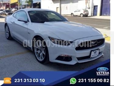Foto venta Auto Seminuevo Ford Mustang GT Edicion Especial 50 anos (2015) color Blanco Oxford precio $429,000