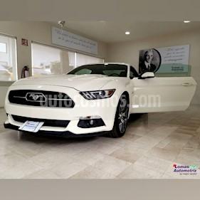 Foto venta Auto usado Ford Mustang GT Equipado 5.0L V8 (2015) color Blanco precio $1,095,000