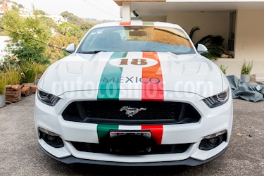 Ford Mustang GT Manual usado (2015) color Blanco precio $750,000