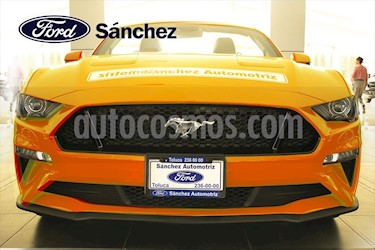 Ford Mustang V8 AT CONVERTIBLE 5.0L usado (2019) color Naranja precio $860,000