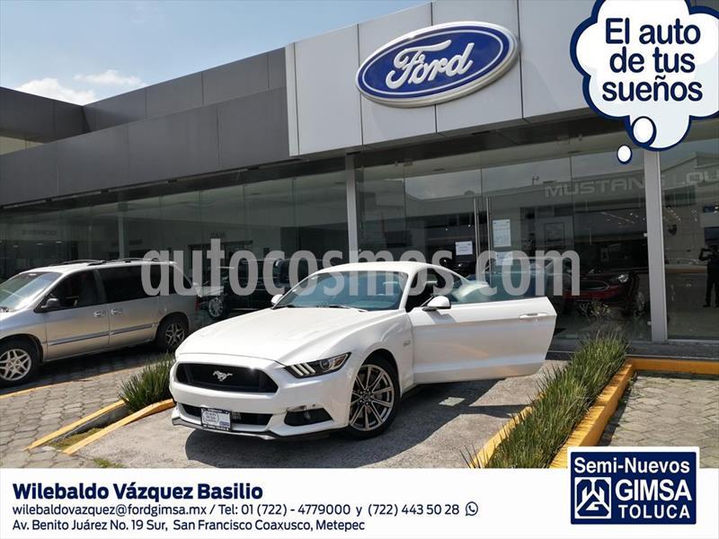 Ford Mustang GT 5.0L V8 usado (2017) color Blanco precio $507,000