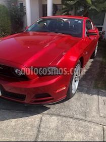 Ford Mustang GT 5.0L V8 Aut usado (2013) color Rojo precio $320,000