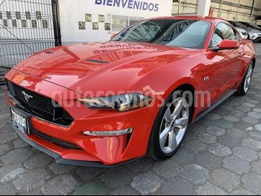 Ford Mustang GT 5.0L V8 Aut usado (2019) color Rojo precio $639,500