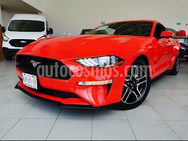 Ford Mustang Ecoboost Aut usado (2019) color Rojo Racing precio $530,000