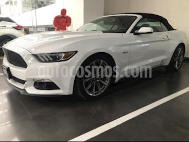 Ford Mustang 2P GT CONVERTIBLE Y 50 ANOS V8 TA PIEL DVD RA-19 usado (2015) precio $545,500