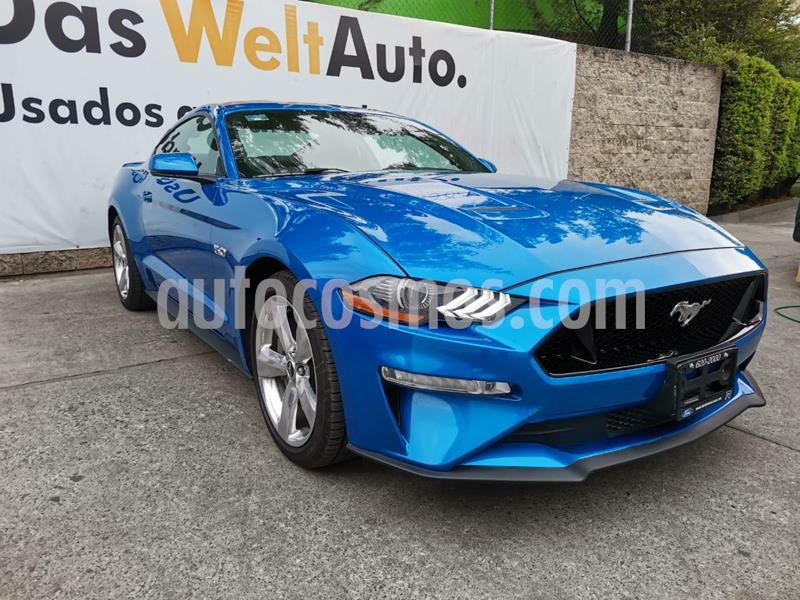 Ford Mustang GT 5.0L V8 usado (2019) color Azul precio $685,000