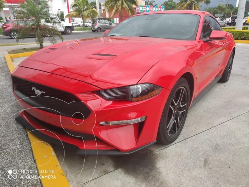 Foto Ford Mustang ECOBOOST AT 2.3L usado (2019) color Rojo precio $575,000