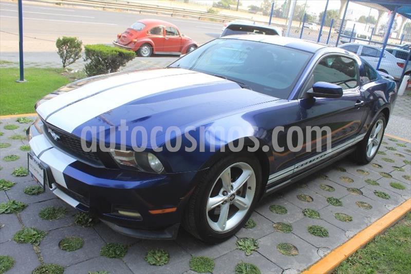 Ford Mustang 3.7 COUPE LUJO V6 AT TELA usado (2012) color Azul Marino precio $182,000