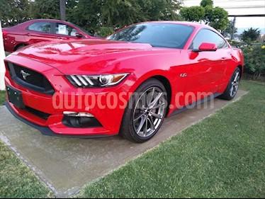 Ford Mustang GT 5.0L V8 Aut usado (2017) color Rojo precio $550,000