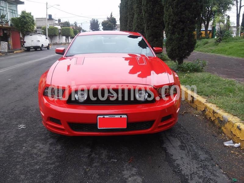 Ford Mustang GT Equipado Vip Aut usado (2013) color Rojo precio $210,000