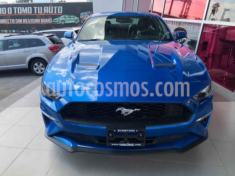 Ford Mustang Coupe 2.3L Aut usado (2019) color Azul precio $549,000