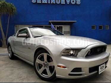 Ford Mustang GT Equipado 5.0L V8 Aut Glass Roof usado (2013) color Plata precio $300,000