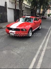 Ford Mustang Coupe V6 Aut usado (2008) color Rojo precio $129,000