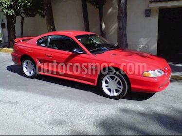 Ford Mustang GT Equipado Aut usado (1996) color Rojo precio $85,000