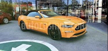 Ford Mustang 2p GT Convertible V8/5.0 Aut usado (2019) color Naranja precio $780,000