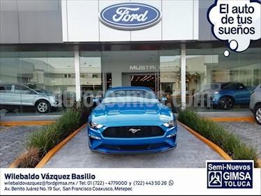 Ford Mustang ECOBOOST AT 2.3L usado (2019) color Azul Claro precio $540,000