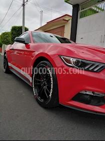 Ford Mustang Ecoboost Aut usado (2017) color Rojo Racing precio $399,750