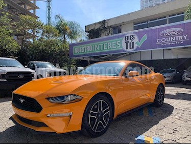 Ford Mustang Coupe 2.3L Aut usado (2018) color Naranja precio $549,000
