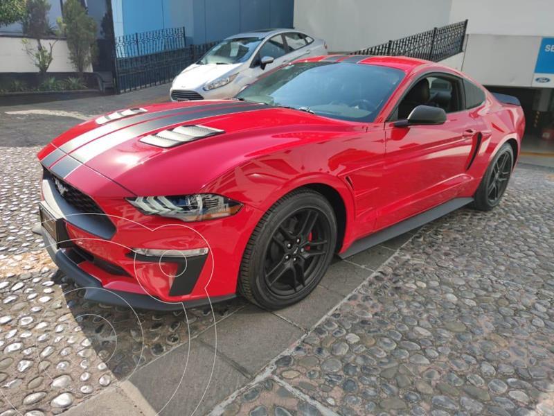 Foto Ford Mustang EcoBoost Aut usado (2020) color Rojo financiado en mensualidades(enganche $213,175)