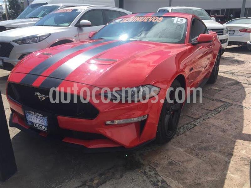 Ford Mustang GT 5.0L V8 Aut usado (2019) color Rojo precio $589,000