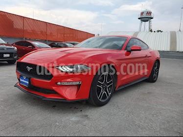 Ford Mustang Ecoboost Aut usado (2019) color Rojo Racing precio $549,000