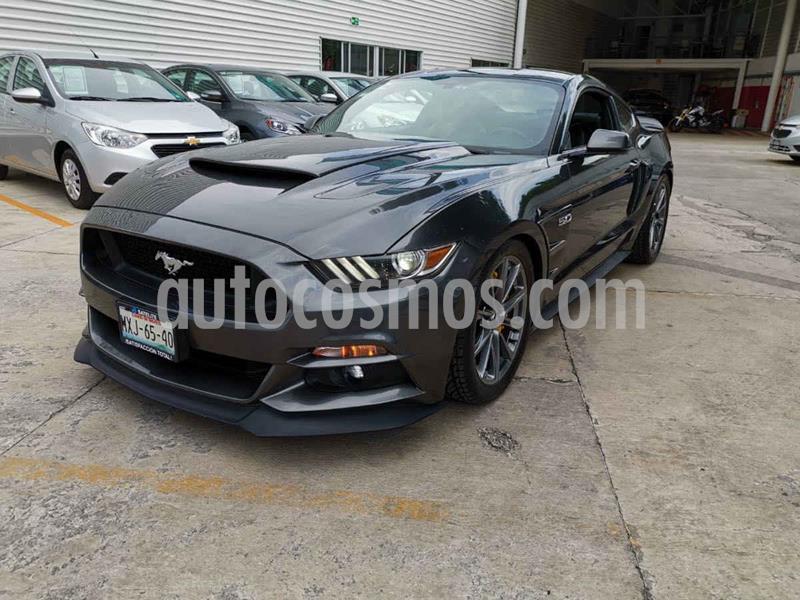 Ford Mustang GT 5.0L V8 Aut usado (2016) color Gris precio $585,000