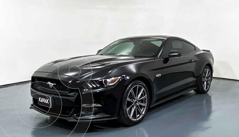 Ford Mustang GT 5.0L V8 usado (2017) color Negro precio $499,999