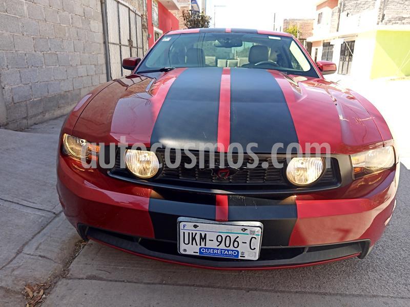 Ford Mustang GT 5.0L V8 Aut usado (2010) color Rojo Racing precio $210,000