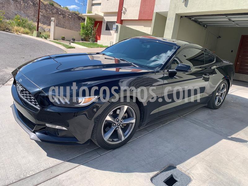 Ford Mustang Coupe 3.7L V6 Aut usado (2017) color Negro precio $340,000