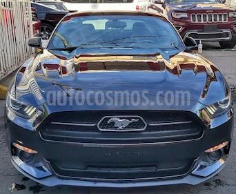 Ford Mustang GT Equipado 5.0L V8 Aut usado (2015) color Negro precio $409,000