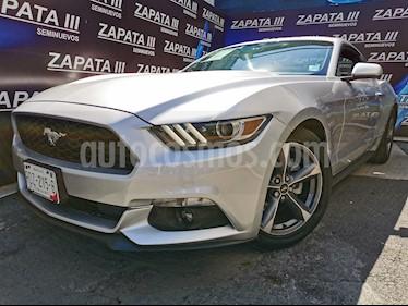 Ford Mustang Coupe V6 Aut usado (2015) color Plata precio $302,000