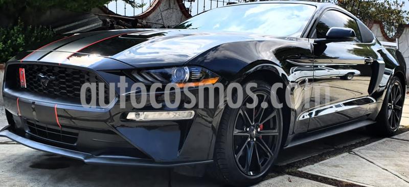 Ford Mustang EcoBoost Aut usado (2019) color Negro precio $677,000