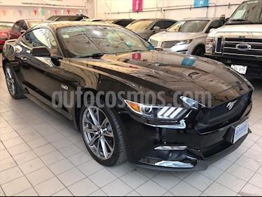 Ford Mustang GT 5.0L V8 Aut usado (2017) color Negro precio $488,000