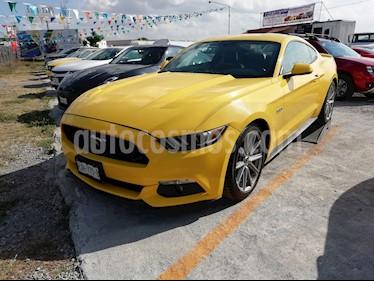 Ford Mustang GT 5.0L V8 Aut usado (2017) color Amarillo precio $510,000