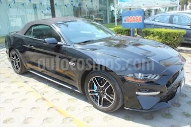 Ford Mustang GT 5.0L V8 Convertible Aut usado (2018) color Negro precio $630,000