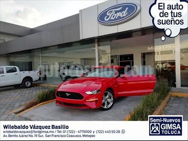 Ford Mustang V8 MT 5.0L usado (2019) color Rojo precio $679,000