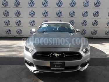 Ford Mustang GT 5.0L V8 Aut usado (2015) color Plata Estelar precio $439,000