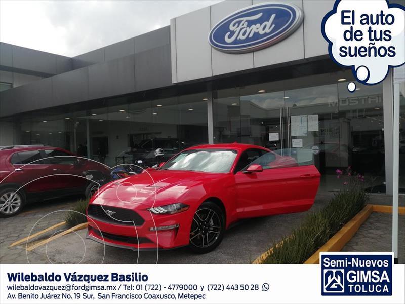 Ford Mustang ECOBOOST AT 2.3L usado (2020) color Rojo precio $852,700