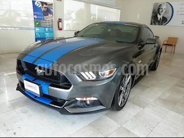 Ford Mustang GT 5.0L V8 usado (2017) color Gris Oscuro precio $485,000