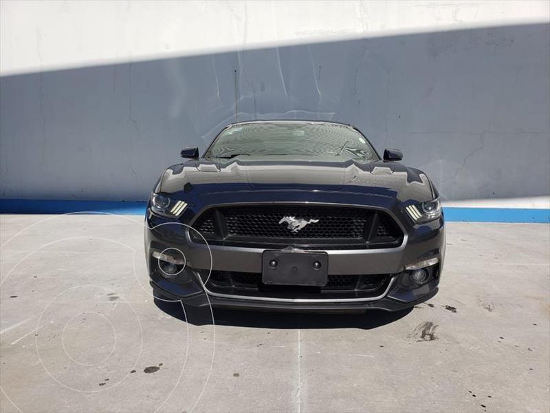 Ford Mustang GT 5.0L V8 Aut usado (2017) color Gris Oscuro precio $430,000