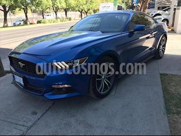 Ford Mustang ECOBOOST TA usado (2017) color Azul Electrico precio $445,000