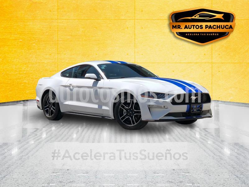 Ford Mustang Ecoboost Aut usado (2019) color Blanco precio $499,000