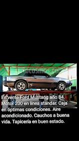 Ford Mustang Automatico usado (1984) color Gris precio u$s200
