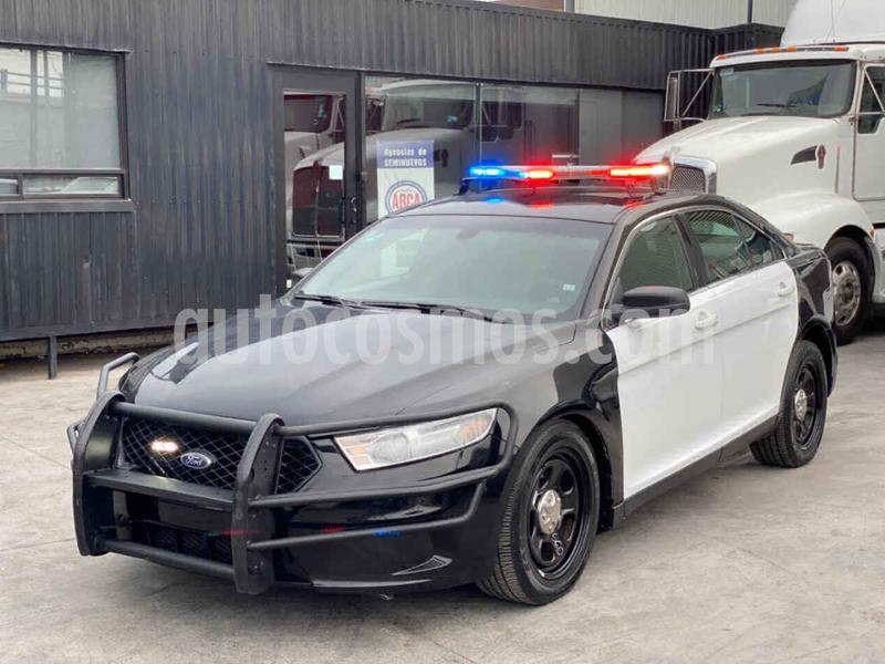Ford Police Interceptor 3.5L usado (2017) color Negro precio $279,800