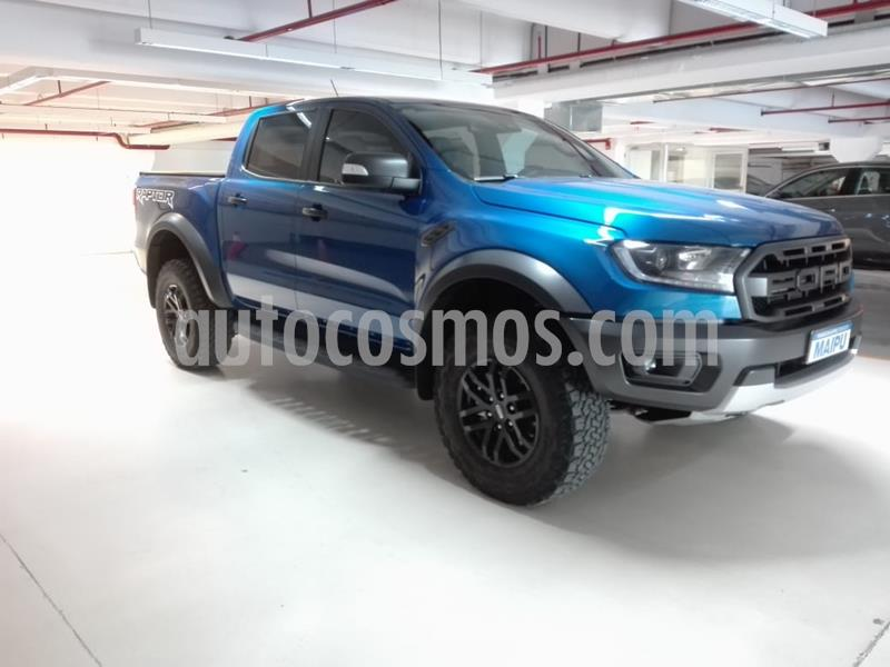 Ford Ranger Raptor 2.0L Diesel Biturbo 4x4 CD Aut usado (2019) color Azul precio $4.500.000
