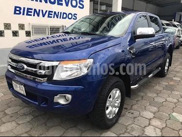 Foto venta Auto usado Ford Ranger 4 PTS. XLT CREW CAB, L4, TM5, A/AC., VE, RA (2016) color Azul precio $303,800