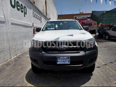 Foto venta Auto usado Ford Ranger 4p XLT Doble Cab L4/2.5 Man (2017) color Blanco precio $285,000