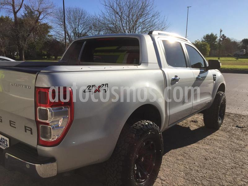 Ford Ranger Limited 3.2L 4x4 TDi CD  usado (2012) color Gris Mercurio precio u$s15.700