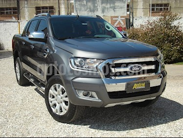 Ford Ranger Limited 3.2L 4x4 TDi CD Aut usado (2016) color Gris Mercurio precio $1.600.000