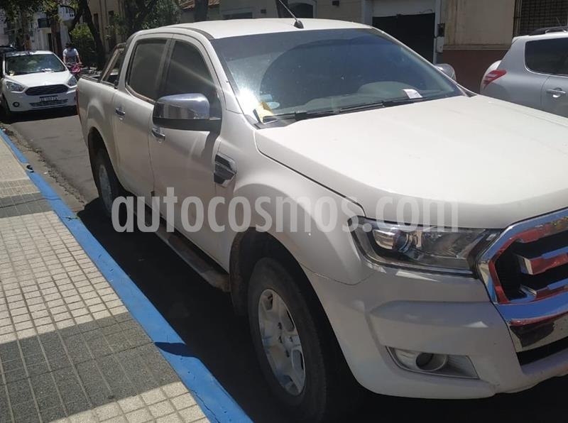 Ford Ranger XLT 3.2L 4x2 TDi CD Aut usado (2017) color Blanco Oxford precio $2.480.000